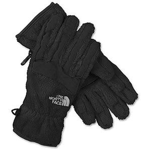 The North Face Fuzzy Women Denali Gloves Brown